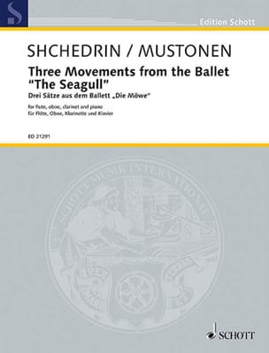 Rodion Shchedrin - 3 Mouvements du Ballet The Seagull - Partition - di-arezzo.fr