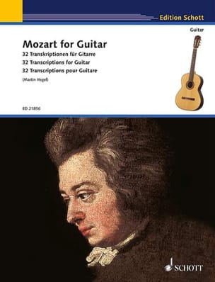Mozart for Guitar - MOZART - Partition - Guitare - laflutedepan.com