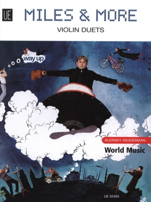Miles and More - 10 Violin Duets Aleksey Igudesman laflutedepan