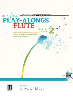 - My first play-alongs Flute - Volume 2 - Partition - di-arezzo.fr