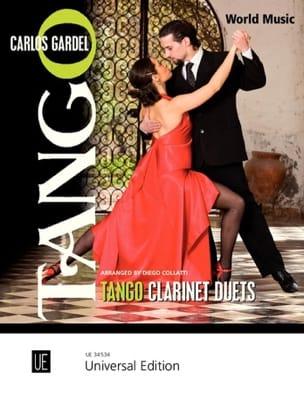 Tango Clarinet Duets Carlos Gardel Partition Clarinette - laflutedepan