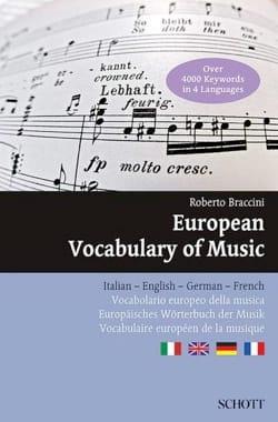 Roberto Braccini - European Vocabulary of Music - Livre - di-arezzo.com