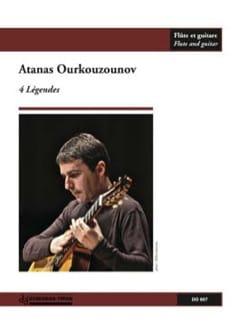 4 Légendes Atanas Ourkouzounov Partition Duos - laflutedepan