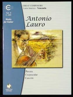Antonio Lauro - Oeuvres pour Guitare, Volume 9 - Partition - di-arezzo.fr