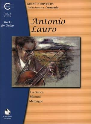 Oeuvres pour Guitare, Volume 8 Antonio Lauro Partition laflutedepan