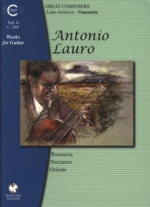 Oeuvres pour Guitare, Volume 6 - Antonio Lauro - laflutedepan.com