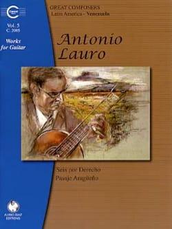 Antonio Lauro - Works for Guitar, Volume 5 - Partition - di-arezzo.co.uk