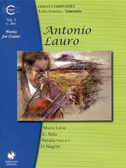Antonio Lauro - Works for Guitar, Volume 3 - Sheet Music - di-arezzo.com