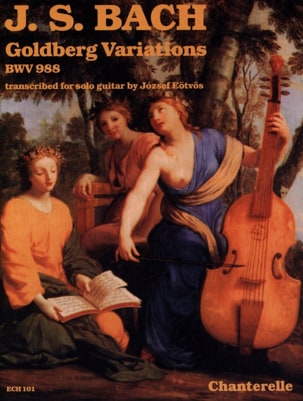 Johann Sebastian Bach - Variations Goldberg, BWV 988 - Guitare - Partition - di-arezzo.fr