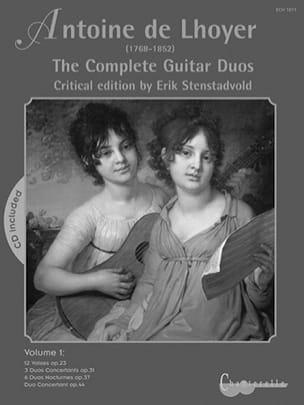 The Complete Guitar Duos, Volume 1 Antoine de Lhoyer laflutedepan