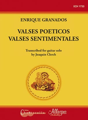 Enrique Granados - Valses Poeticos - Sentimentale Walzer / Gitarre - Noten - di-arezzo.de