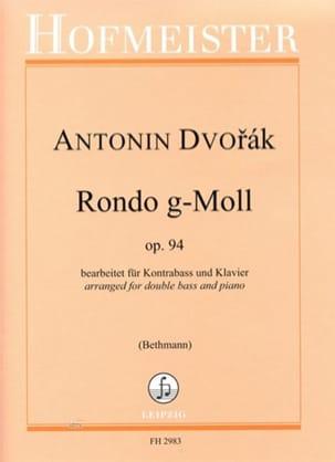 Antonin Dvorak - Rondo en sol mineur, opus 94 - Partition - di-arezzo.fr