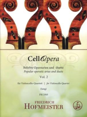 CellOpera - Volume 2 - Partition - Violoncelle - laflutedepan.com