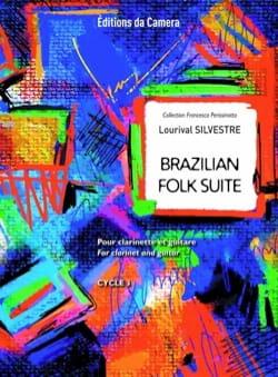 Lourival Silvestre - Brazilian folk suite - Clarinette et guitare - Partition - di-arezzo.fr