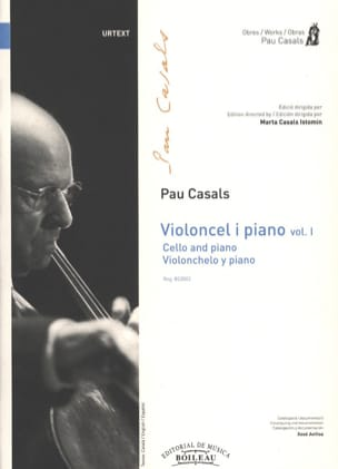Pablo Casals - Violoncel y piano - Volume 1 - Partition - di-arezzo.fr