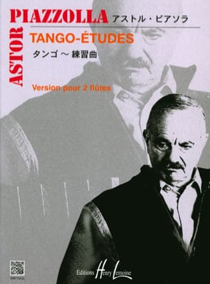 Astor Piazzolla - Tango-Etudes - 2 Flutes - Sheet Music - di-arezzo.co.uk