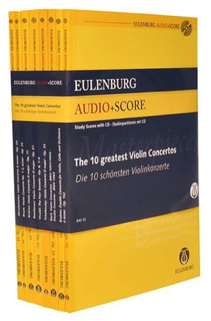 - The 10 greatest Violin Concertos - Sheet Music - di-arezzo.com