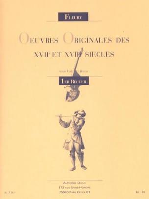 L. Fleury - Original works 17th and 18th century. - Volume 1 - Sheet Music - di-arezzo.com
