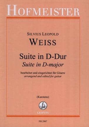 Suite en Ré Majeur - Silvius Leopold Weiss - laflutedepan.com