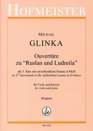 Michail Glinka - opening of Rousslan and Ludmilla - Sheet Music - di-arezzo.com