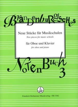 - Neue Stücke für Musikschulen - Hautbois et Piano - Partition - di-arezzo.fr