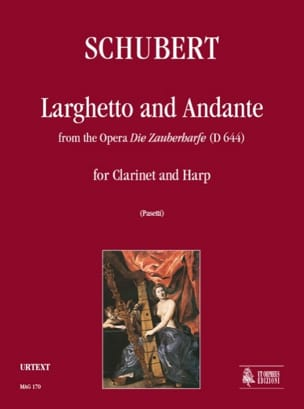 SCHUBERT - Larghetto and Andante from the Opera Die Zauberharfe D644 - Sheet Music - di-arezzo.com