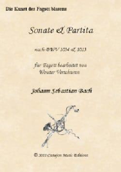 Sonate et Partita - Basson et BC - BACH - Partition - laflutedepan.com