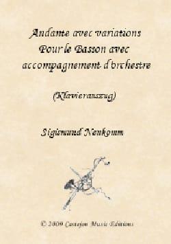 Sigismund Neukomm - Andante avec Variations - Violon/Basson/PIano - Partition - di-arezzo.fr