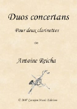 Anton Reicha - 6 Concertos Duets - 2 Clarinets - Sheet Music - di-arezzo.co.uk