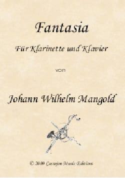 Johann Wilhelm Mangold - Fantaisie - Clarinette et piano - Partition - di-arezzo.fr