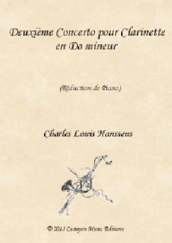 Charles-Louis Hanssens - Concerto No. 2 in C minor - Clarinet and Piano - Sheet Music - di-arezzo.com