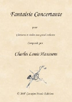 Charles-Louis Hanssens - Fancy Concertante - Clarinet-Violin-Piano - Sheet Music - di-arezzo.co.uk
