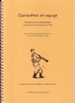 Clarinettes en Voyage Partition Clarinette - laflutedepan