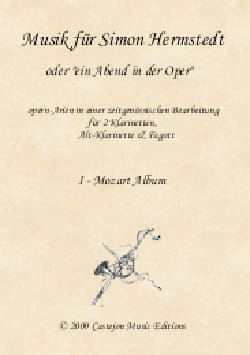 Musik für Simon Hermstedt - Quatuor 2 Clarinettes-Clarinette Alto et Basson laflutedepan