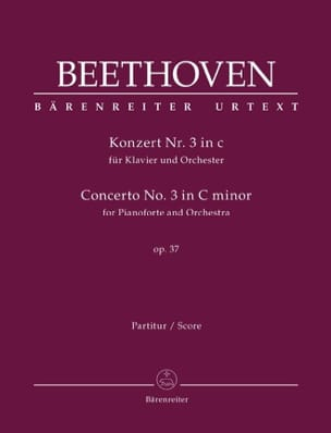 BEETHOVEN - Piano Concerto No. 3, Op. 37 - Conductor - Sheet Music - di-arezzo.com