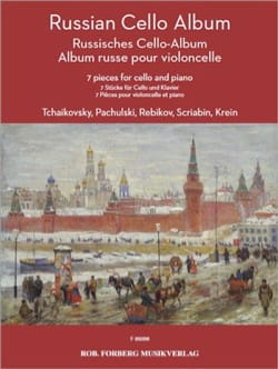 Russian Cello Album Partition Violoncelle - laflutedepan