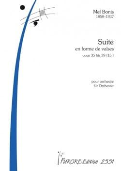 Suite en forme de valses - Conducteur Mel Bonis Partition laflutedepan