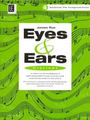 Eyes and Ears - Clarinet - Volume 4 : Advanced - laflutedepan.com