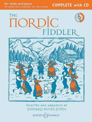 Traditionnels - The Nordic Fiddler - Violin and Complete Piano CD - Sheet Music - di-arezzo.com