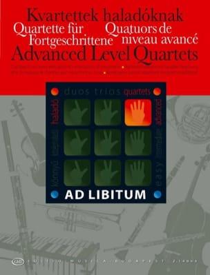 Quatuors de Niveau Avancés - Andras Soos - laflutedepan.com