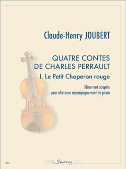 Claude-Henry Joubert - 4 Tales of Charles Perrault - 1. Little Red Riding Hood - Sheet Music - di-arezzo.com