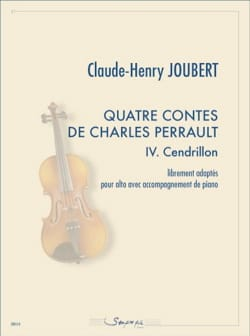 Claude-Henry Joubert - 4 Tales of Charles Perrault - 4. Cinderella - Sheet Music - di-arezzo.co.uk
