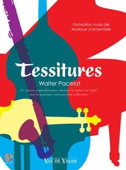 Walter Pacelat - tessituras - 楽譜 - di-arezzo.jp