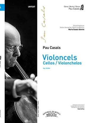 Pablo Casals - Violoncels - Orchestre de violoncelles - Partition - di-arezzo.fr