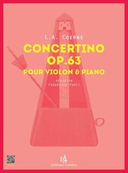 Concertino, opus 63 - Violon et piano laflutedepan