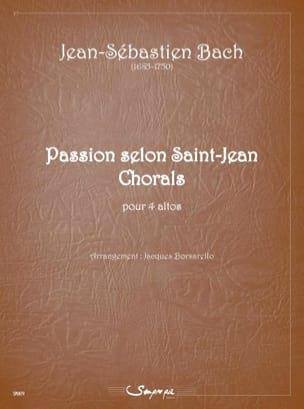 BACH - Passion according to Saint John Chorals - 4 violas - Sheet Music - di-arezzo.com