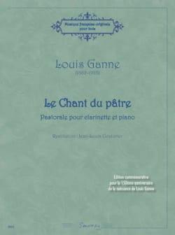 Le Chant du Pâtre - Louis Ganne - Partition - laflutedepan.com