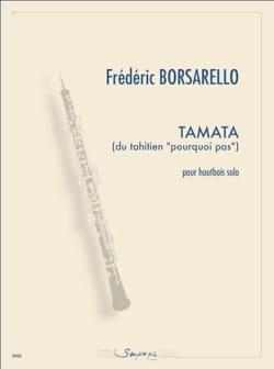 Frédéric Borsarello - Tamata - Partition - di-arezzo.fr