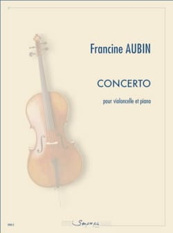 Francine Aubin - Concerto - Cello and piano - Sheet Music - di-arezzo.com