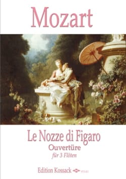 MOZART - The Marriage of Figaro, Opening - 3 Flutes - Sheet Music - di-arezzo.com